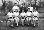 Marget Street school Cottenham netball team 1960. (Photo coutesy Boyd Rose)