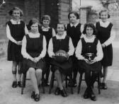 Marget Street School Cottenham,netball team (Photo courtesy Boyd Rose)