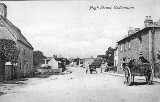 Cottenham High Street, Broad Lane Pond
