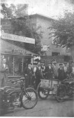 Eastlands Garage, Cottenham. Motor & Cycle works, Carpenter, Wheelwright & Undertaker