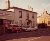 Eastlands Garage, Cottenham. Tiger tails, Green Shield Stamps & the Mini's that everyone remembers