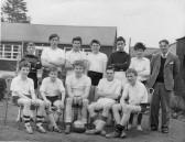 Cottenham School Football Team, the last Margett Street school team before moving to the Village College