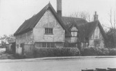 Cottage, Cottenham Green End, demolished for Cottenham Village College (photo courtesy Bernard Cornwell)
