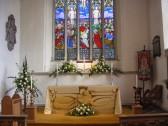 Cottenham Church 800 years+ Celebrations, Chancel Display by Jean Gifford