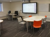 One of the many rooms of the New Sixth Form Centre at Cottenham Village College
