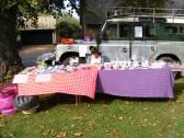 Craft Stall on Cottenham Green on Feast Day