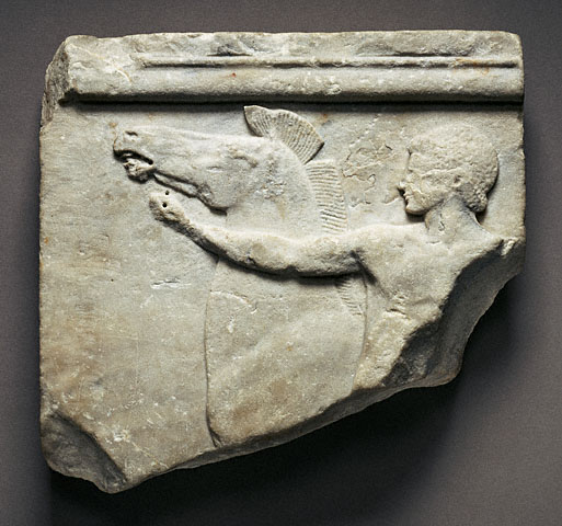 The cottenham relief a carving in marble greek