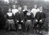 A Gautrey & family
