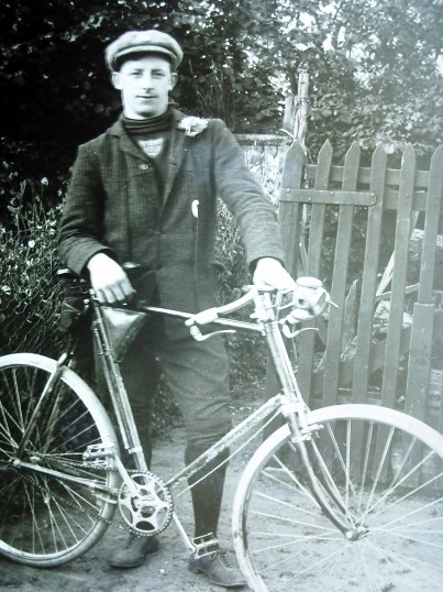 Unknown Cottenham Cyclist