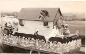 1964.  Noah's Ark float, fundraising to build Coveney's new village hall.