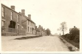 1922.  Hill House; Cross keys public house;Picture; coutesy of Jean Bye