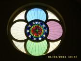 1892.  The main window of Coveney Methodist Chapel