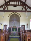 2011.  1st June  Interior of Coveney Methodist Chapel
