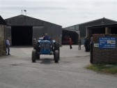 2011.  26th June  Tractors setting off on the Coveney Vintage Vehicle Road RunPicture: Courtesy of  Kay Whitbread