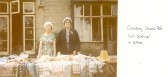 1963.  approx. Coveney Church Fete; Winifred Spencer and Ethel ?
