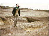1992.  Winter: Iron age settlement between Coveney and Wardy Hill. Excavations open for the public to view