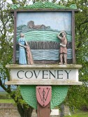 1753.  Coveney Village Sign