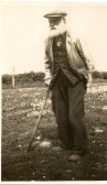 1936.  David Elias Duffield, the first Duffield to move into Wardy Hill.Born 1848, died 1940.Photo: courtesy of Fred Duffield