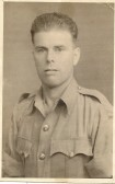 1942.  Leslie Duffield, (Grand Father to Fred Duffield) RAF India, 1942/45