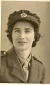 1942.  Agness Duffield, ATS, 1942