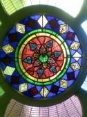 1892.  Detail of Coveney Methodist Chapel Window
