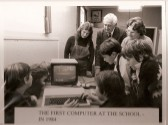 1983.  13th Sept  The First Computer In Coveney School. Date taken from school notes.