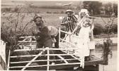 1964.  Fund raising in Coveney to build Village hall