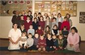 1984.  Coveney School with Mr Ben Melton