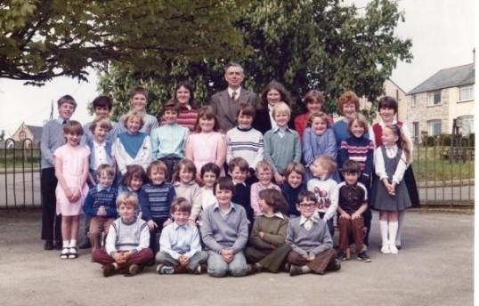 1984.  Coveney School Photo