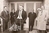 1965.  8th May  The Opening Of Coveney Village Hall