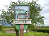 2007. Coveney Village Sign
