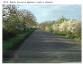 2014.  March. Coveney in Blossom