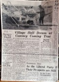 1964 Building the Village Hall 12th April