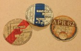 1950 to 1962 Vehicle licence discs