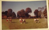 1959 to 1969 Art lesson in School Playing Field