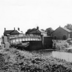 Old Prickwillow Bridge - Old Toll House and Pumping Station in background.Photo: Donald Monk