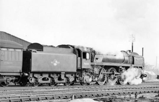 BR Class 7MT Brittania 70001