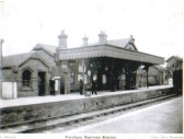 Fordham Railway station.