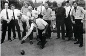 Fordham Bowls Team. Performing at Ely Beet Factory Green. 1974