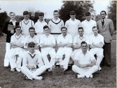 Fordham Cricket Team Circa 1947