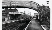Early German deisel Runner in Fordham Station.