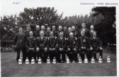 Fordham Fire Brigade, Captain J Bishop. circa 1930