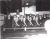 Fordham Congrigational Chapel,   Boys Brigade, the early years.