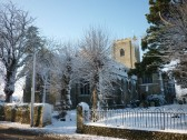 Fordham Church In the Snow January 2010