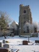 Fordham Church ln the snow in 2010
