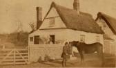 Mr & Mrs J Fenn House on the corner of Collins Hill & Mill Lane  (Circa 1855)