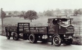 Early H A Newport Steam Wagon & Trailor