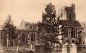 Fordham Church  (Circa 1900)Photo Dr Stephen Taylor.