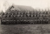 Part of the one hundred thirty two strong Fordham Home Guard.   1941