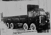 H A Newport Fordham  one of the early Diesel Lorries. (1936)